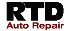 RDT Auto repair logo business sponsor underwriter