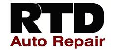 RDT Auto repair logo business sponsor underwriter