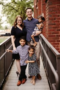 Brittany Frost and her family