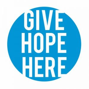 give hope here button