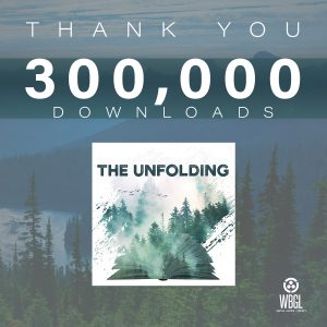 Thank you for 300,000 downloads of The Unfolding