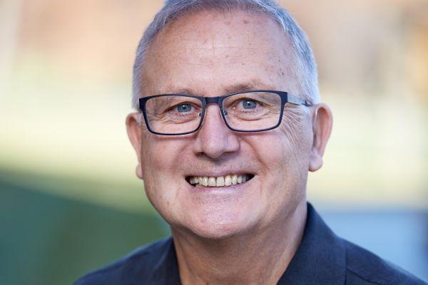 John Reimer smiling