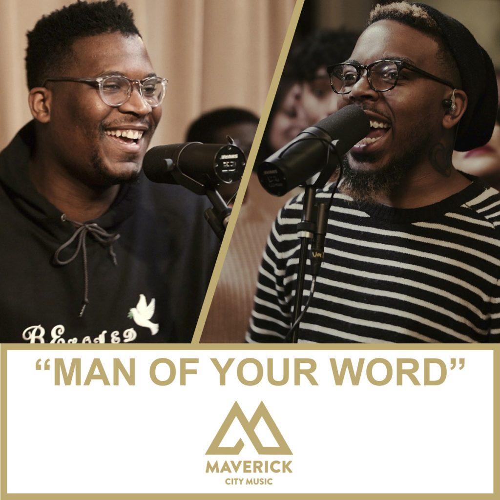 Maverick City Music Man of Your Word Album Cover