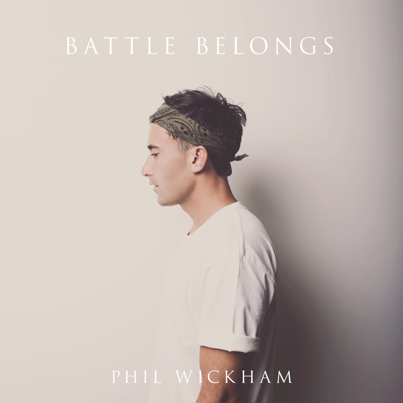 Phil Wickham photo Battle Belongs Single Cover
