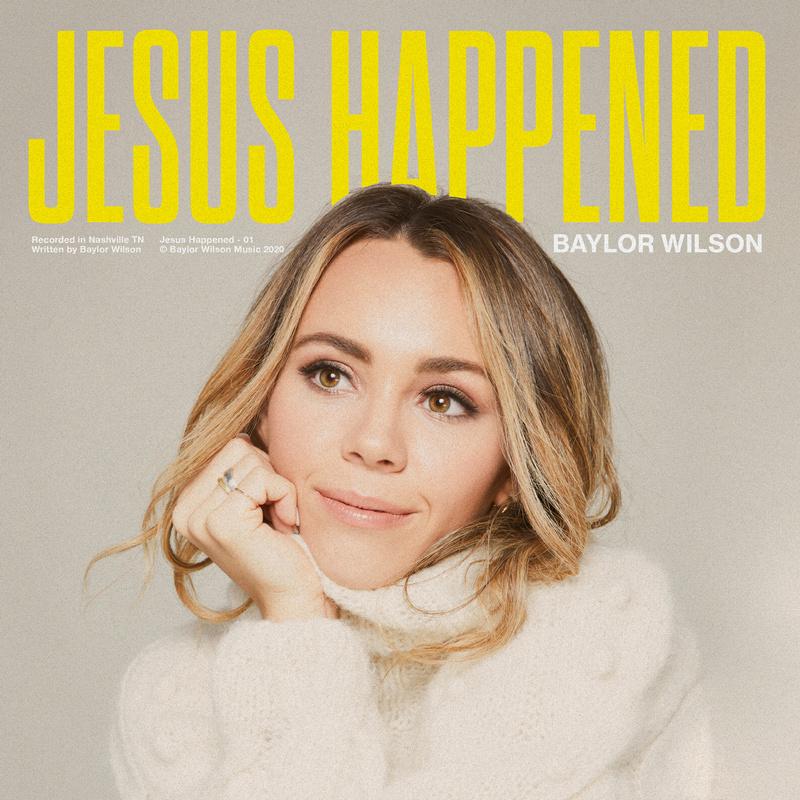 "Baylor Wilson photo ""Jesus Happened"" title"