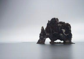 rock ocean sand